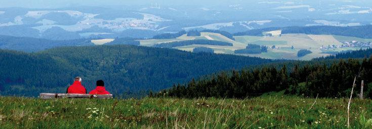 Ausblick vom Belchen Quelle: Rainer Sturm, pixelio